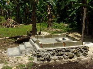 Toilet Construction at Haji Tawang's House