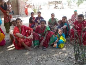 Women of BT Village in Nepal